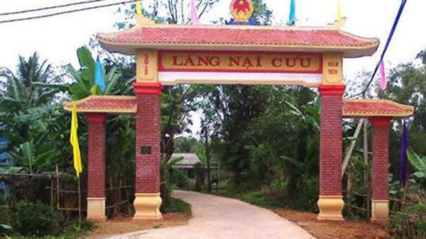 Lịch sử hình thành và phát triển làng Nại Cửu xã Triệu Đông