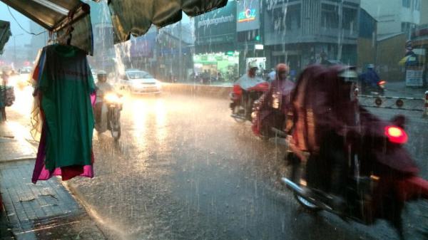 Trung Bộ, Nam Bộ có mưa lớn trong dịp Tết Trung Thu