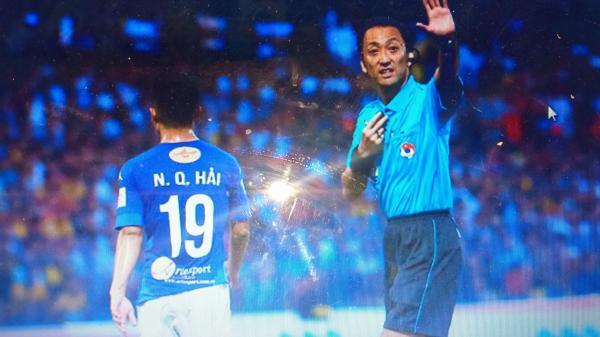 Trọng tài từng bắt ở V-League điều khiển trận Việt Nam - UAE