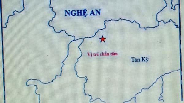 Động đất 4,2 độ ở Nghệ An