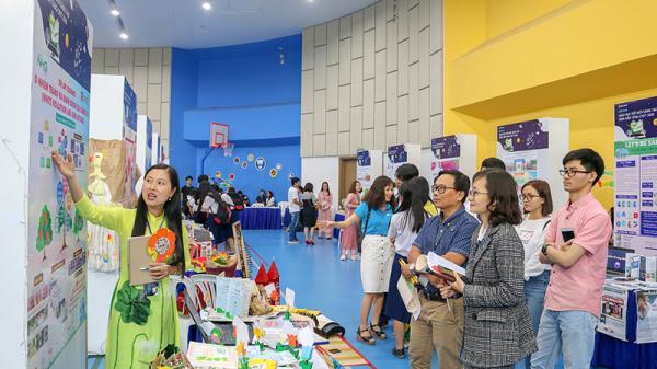 Cô giáo Quảng Trị đạt giải Ba với dự án về môi trường