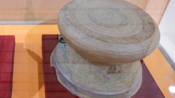 Trống đồng Trà Lộc được công nhận bảo vật quốc gia