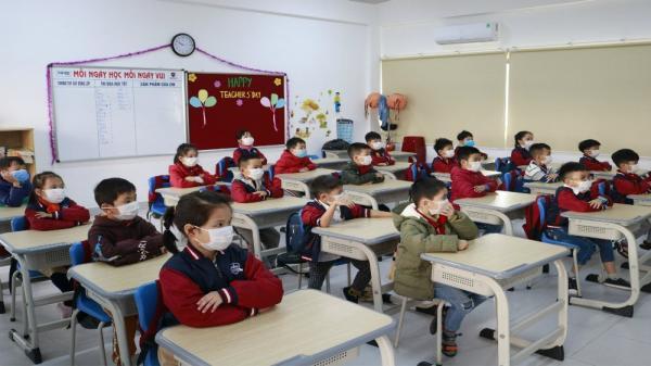 Quảng Trị hướng dẫn học sinh đeo khẩu trang, vệ sinh phòng dịch corona