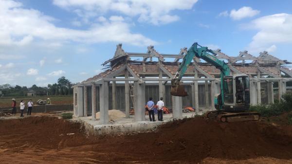 Cam Lộ: Đẩy nhanh tiến độ xây dựng Đền tưởng niệm vua Hàm Nghi và các tướng sỹ Cần Vương