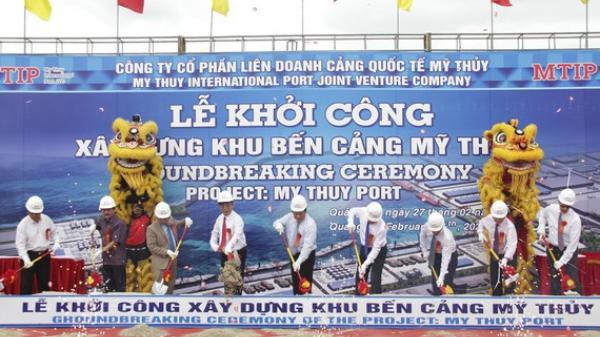 Quảng Trị: Khởi công xây dựng Khu bến cảng Mỹ Thủy hơn 14.000 tỷ