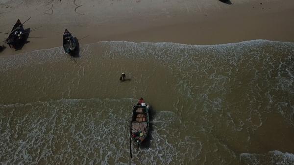 Ngư dân bãi ngang thu nhập cao từ khuyếc biển
