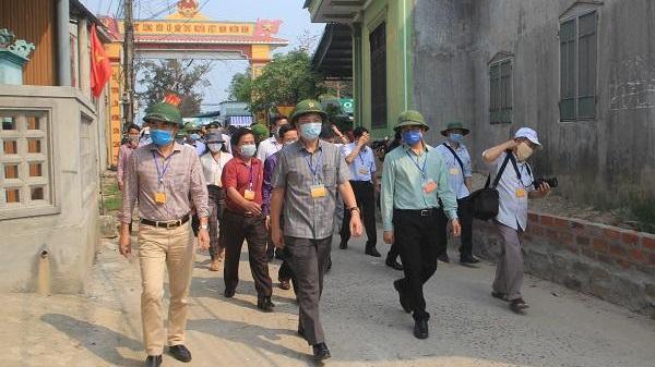 Diễn tập phòng chống dịch Covid-19 tại huyện Gio Linh