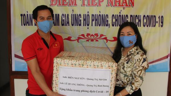 Tặng hơn 6.000 khẩu trang kháng khuẩn cho người dân Quảng Trị phòng, chống COVID-19