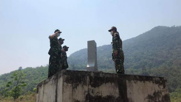 Tin vui cho gia đình đại uý đang tham gia chống đại dịch Covid-19 khu vực biên giới Quảng Trị