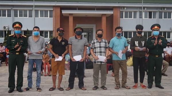 267 công dân hoàn thành cách ly phòng dịch tại Trung tâm điều dưỡng Người có công tỉnh Quảng Trị