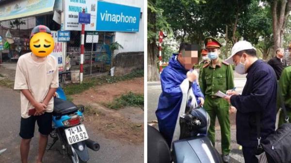 Quảng Trị: Liên tiếp xử phạt những người dân không đeo khẩu trang nơi công cộng