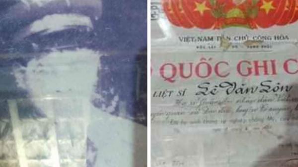 Nhắn tìm mộ liệt sĩ: Liệt sĩ Lê Văn Lộn (quê tỉnh Hà Tuyên cũ) hy sinh ngày 9/3/1975 tại TT-Huế