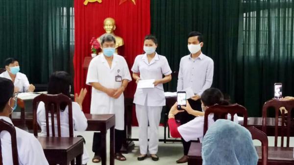 Cán bộ, nhân viên y tế huyện Vĩnh Linh hiến m.á.u kịp thời c.ứ.u sản phụ tai b.iế..n