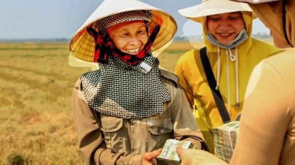 Nụ cười của người nông dân Quảng Trị
