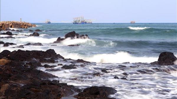 Chiêm ngưỡng vẻ đẹp bãi biển Cửa Tùng