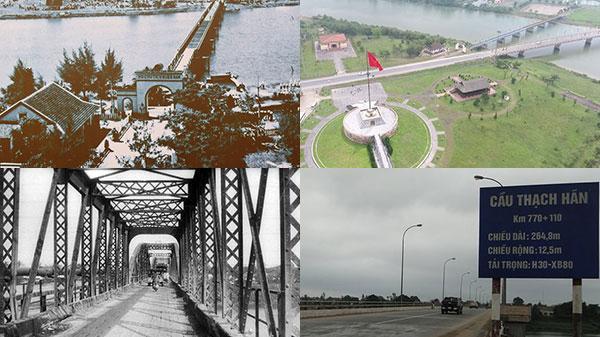 Ngắm loạt ảnh những cây cầu Quảng Trị xưa và nay