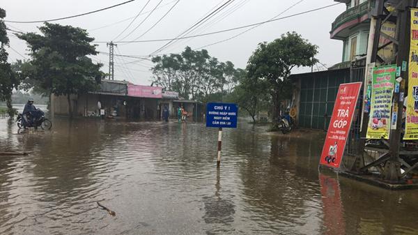 Quảng Trị: Tiếp tục bám sát cơ sở ứng phó và khắc phục hậu quả lũ lụt