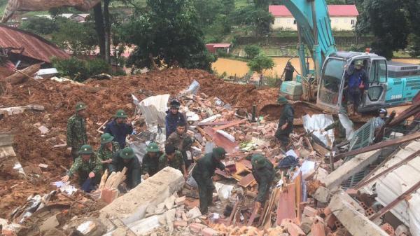 Quảng Trị: Nhói lòng hiện trường tan hoang sau vụ sạt lở đất vùi lấp 22 cán bộ, chiến sĩ