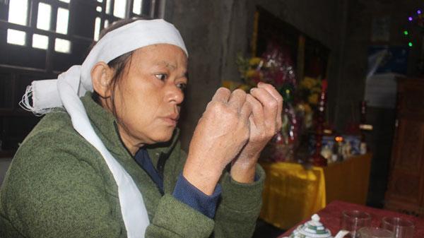 Người phụ nữ Quảng Trị chưa hết tang chồng đã chịu tang con