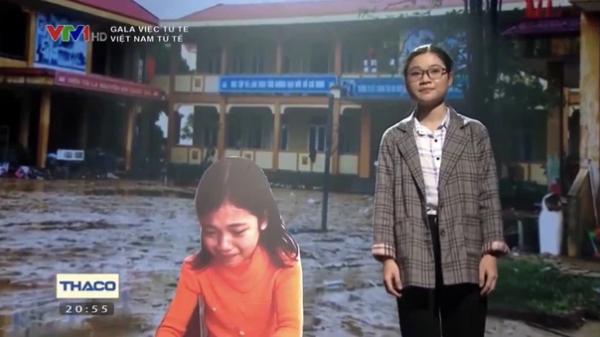 Cô bé Quảng Trị khóc nức nở vì sách vở ướt nhẹp sau 10 năm: Ra dáng thiếu nữ xinh đẹp, trở thành sinh viên trường y