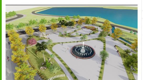 Sắp khởi công con đường hoa tại Công viên văn hoá trung tâm Lao Bảo
