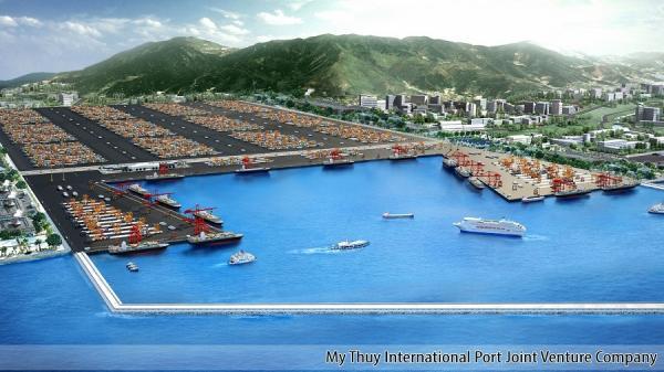 Xây dựng cảng biển Mỹ Thủy trở thành dự án kiểu mẫu