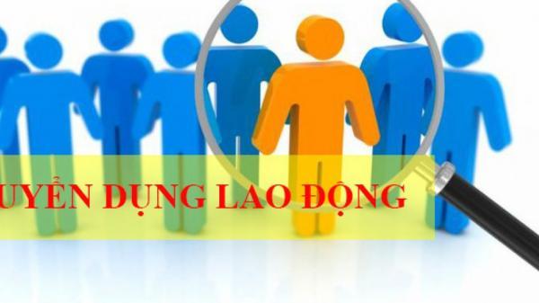 Công ty Cổ phần Nước sạch Quảng Trị thông báo tuyển dụng lao động