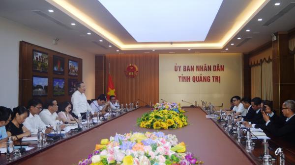 Liên danh Petechim & Pacific Group tìm hiểu xúc tiến, thu hút đầu tư nước ngoài vào tỉnh Quảng Trị