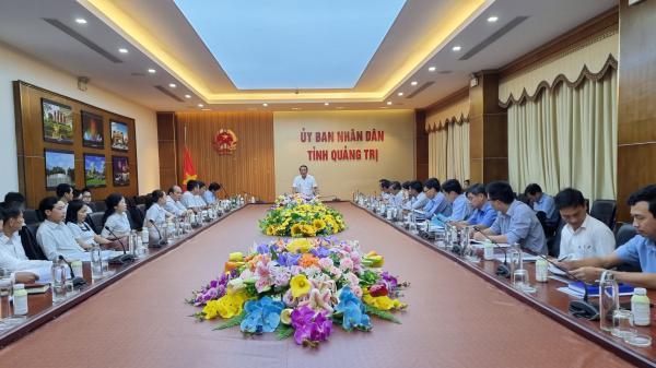 UBND tỉnh làm việc với Công ty cổ phần Quảng Trị về phát triển lúa vietGAP, lúa hữu cơ Quảng Trị