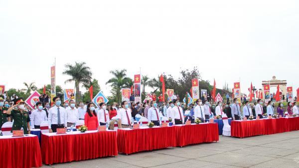 Quảng Trị: Tổ chức trọng thể lễ Thượng cờ Thống nhất non sông