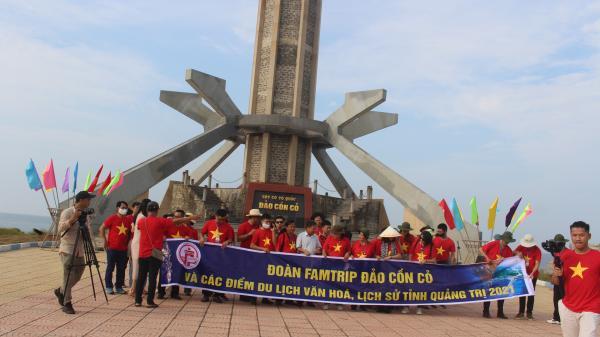 Giới thiệu, quảng bá du lịch biển, đảo Cồn Cỏ và du lịch văn hóa, lịch sử tỉnh Quảng Trị
