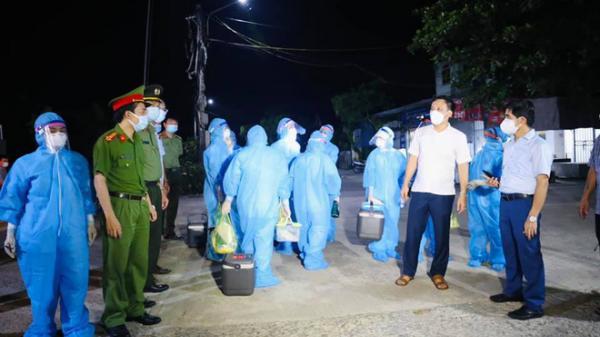 Thêm 5 người mắc Covid-19, nâng tổng số người nhiễm ở Hà Tĩnh lên 31 người