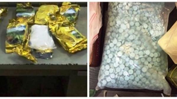 Bắt giữ 8 đối tượng trong đường dây ma túy cực lớn từ Campuchia về Việt Nam