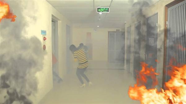 Phải làm gì khi chung cư bạn ở đang cháy?