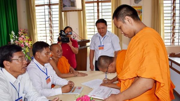 Sóc Trăng: Tổ chức kỳ thi cuối khóa tiếng Pali trung cấp và ngữ văn Khmer trung học