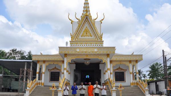 Sóc Trăng: Độc đáo ngôi chùa Phật giáo Nam tông Khmer
