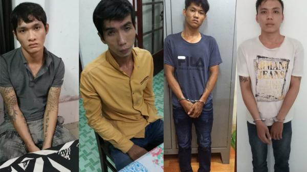 Bắt băng nhóm gây ra 17 vụ trộm cướp khắp miền Tây