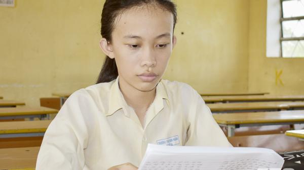 Tấm gương hiếu học của cô học trò nghèo huyện Châu Thành (Sóc Trăng)