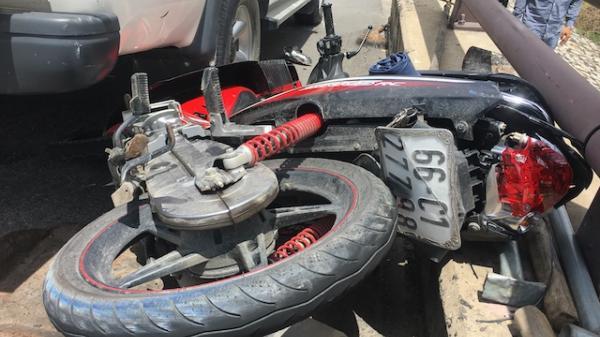 Hai mẹ con trên đường về Sóc Trăng bị xe tải tông chê't thảm th ương, tài xế gây t ai n ạn bỏ trốn