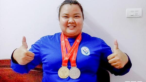 Vận động viên Sóc Trăng Lê Thị Lài - Phá kỷ lục Đại hội Thể dục Thể thao toàn quốc