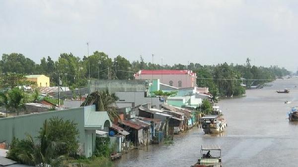 Gần 400 tỷ đồng xây dựng cống âu thuyền Ninh Quới hướng về tỉnh Sóc Trăng
