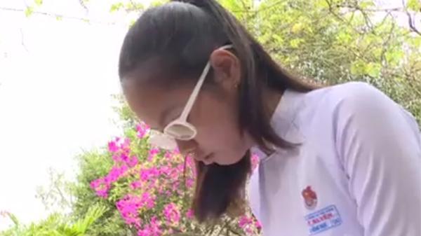 Ước mơ trở bác sĩ còn xa của cô học trò nhỏ vùng quê nghèo Sóc Trăng