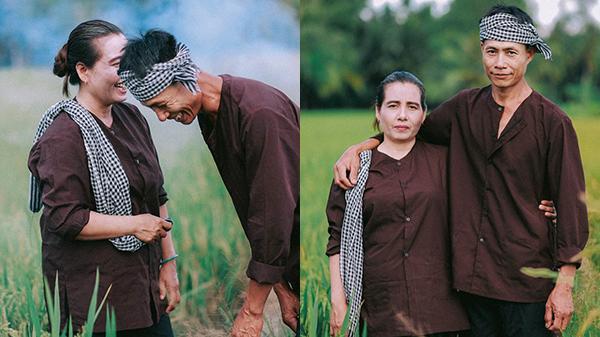 """Chuyện xúc động về bộ ảnh """"tình yêu 25 năm xanh mượt"""" của cặp vợ chồng nghèo ở Sóc Trăng"""
