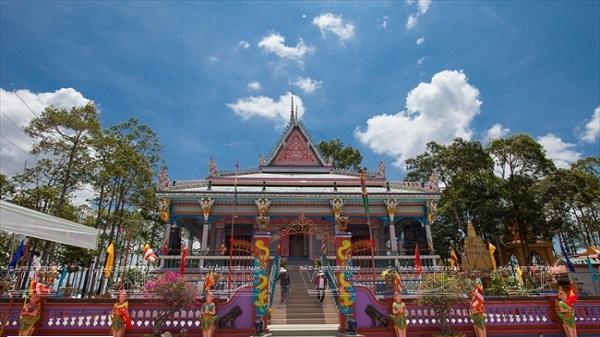 Chén Kiểu - ngôi chùa đoàn kết của người Khmer ở Sóc Trăng