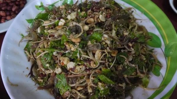Gỏi tôm sống Sơn La ngon không kém món Goong ten nổi tiếng ở Thái Lan