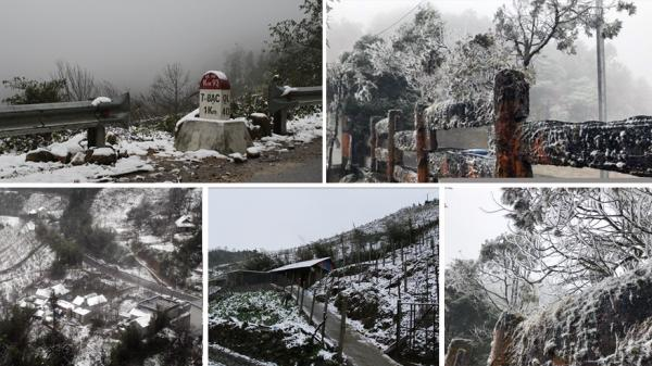 Chùm ảnh HOT nhất trong ngày: Tuyết rơi dày đặc tại Sa Pa