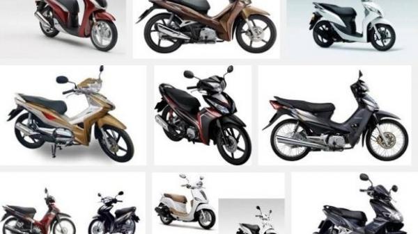 Bảng giá các loại xe máy Honda tháng 3/2018 mới nhất