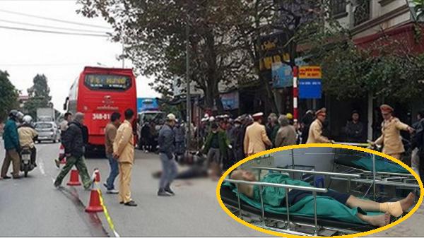 Phát hoảng nhìn nhóm đối tượng hành hung, cắt gân gót chân phụ xe khách