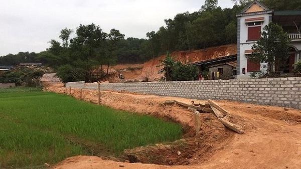 """Hải Dương: Sẽ cho Chủ tịch phường nghỉ việc nếu còn để xảy ra tình trạng """"xẻ đồi, bán đất trái phép"""""""