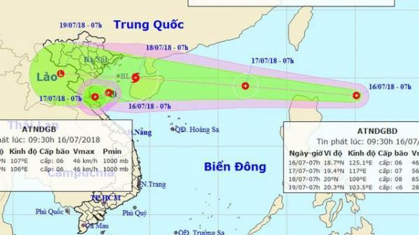 NÓNG: Áp thấp 'nối đuôi' nhau, Biển Đông sắp có bão